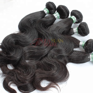 top quality wholesale 100 virgin human hair bundle mongolian hair body wave
