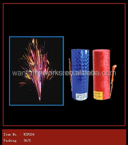 Cylinder stage jewel flower cold stage fountain fireworks for wholesale wedding and party decoration
