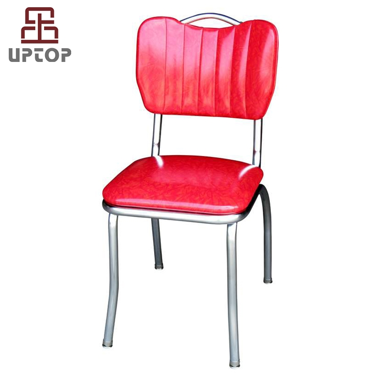 (SP-LC293) Wholesale Vinyl leather American retro dining chairs