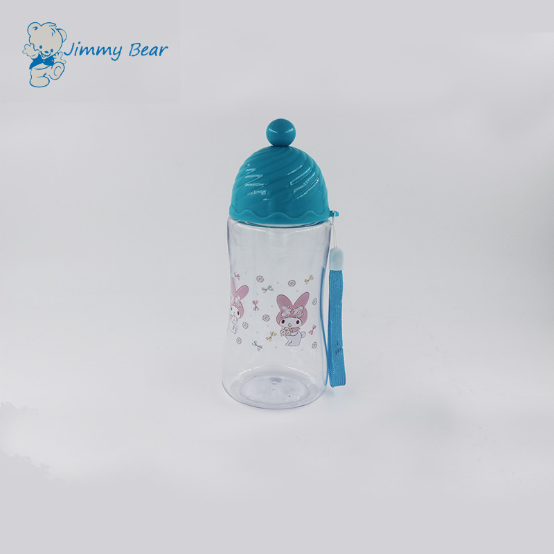 300ML anti-leakage plastic sports water bottles