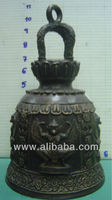 Bronze bell with Thai Garuda design