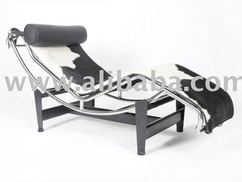 Le Corbusier Chaise Lounge Sedia In Pelle Di Mucca - Buy Product on ...