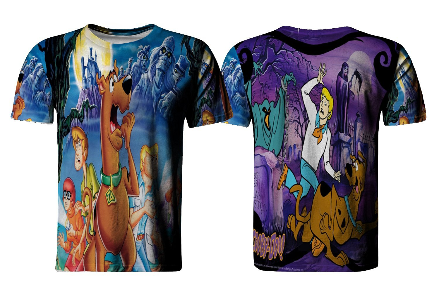 Get Quotations · Scooby doo and shaggy Fans Custom T-Shirt Men   Women All  Over Print Sublimation 5a9460360
