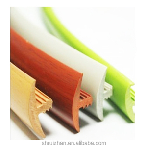 PVC Plastic Cabinet T-molding Furniture Edging T Edge Banding Trim Strip