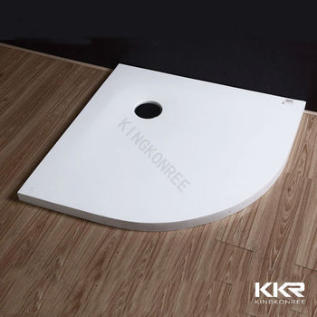 italian stylish solid surface shower panstone shower tray