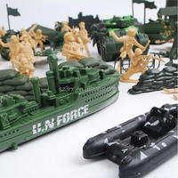 Wholesale oem cheap small plastic soldiers military toy,make custom plastic mini soldiers military toy factory