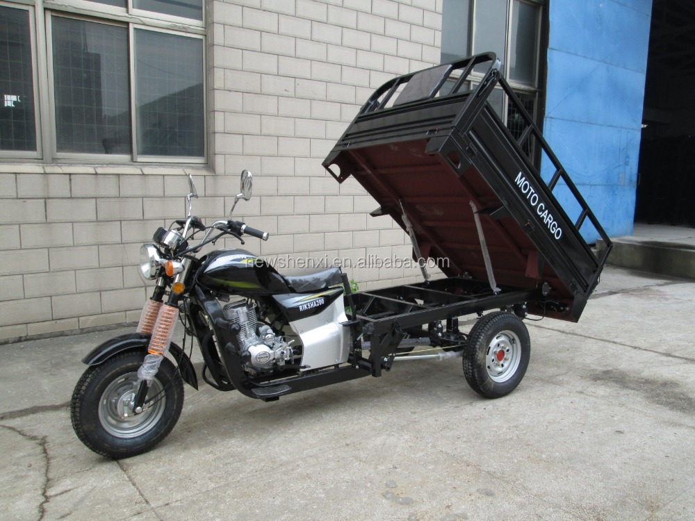 Large Cargo Box 150cc 200cc 250cc Three Wheels Motorcycle Tricycle for China sale