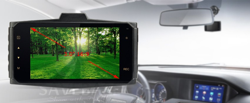 Camera hành trình 2 mắt Hoàng Gia GPS DVR G9
