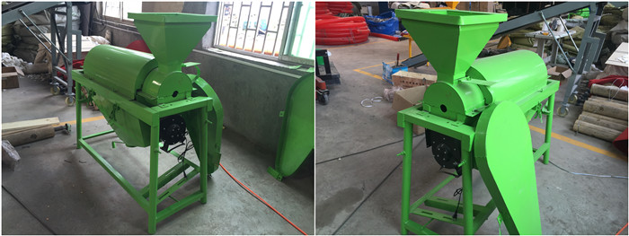 automatic green beans grain polishing machine/maize grain polishing machine