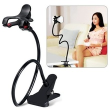 360 Rotante Flessibile Long Arm supporto del telefono delle cellule del basamento di lazy bed desktop tablet auto selfie staffa di montaggio per iphone X