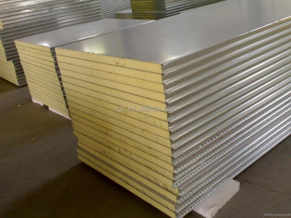 Water-proof rock wool sandwich panel