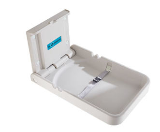 antibacterial protection public commercial washroom PE diaper baby changing station