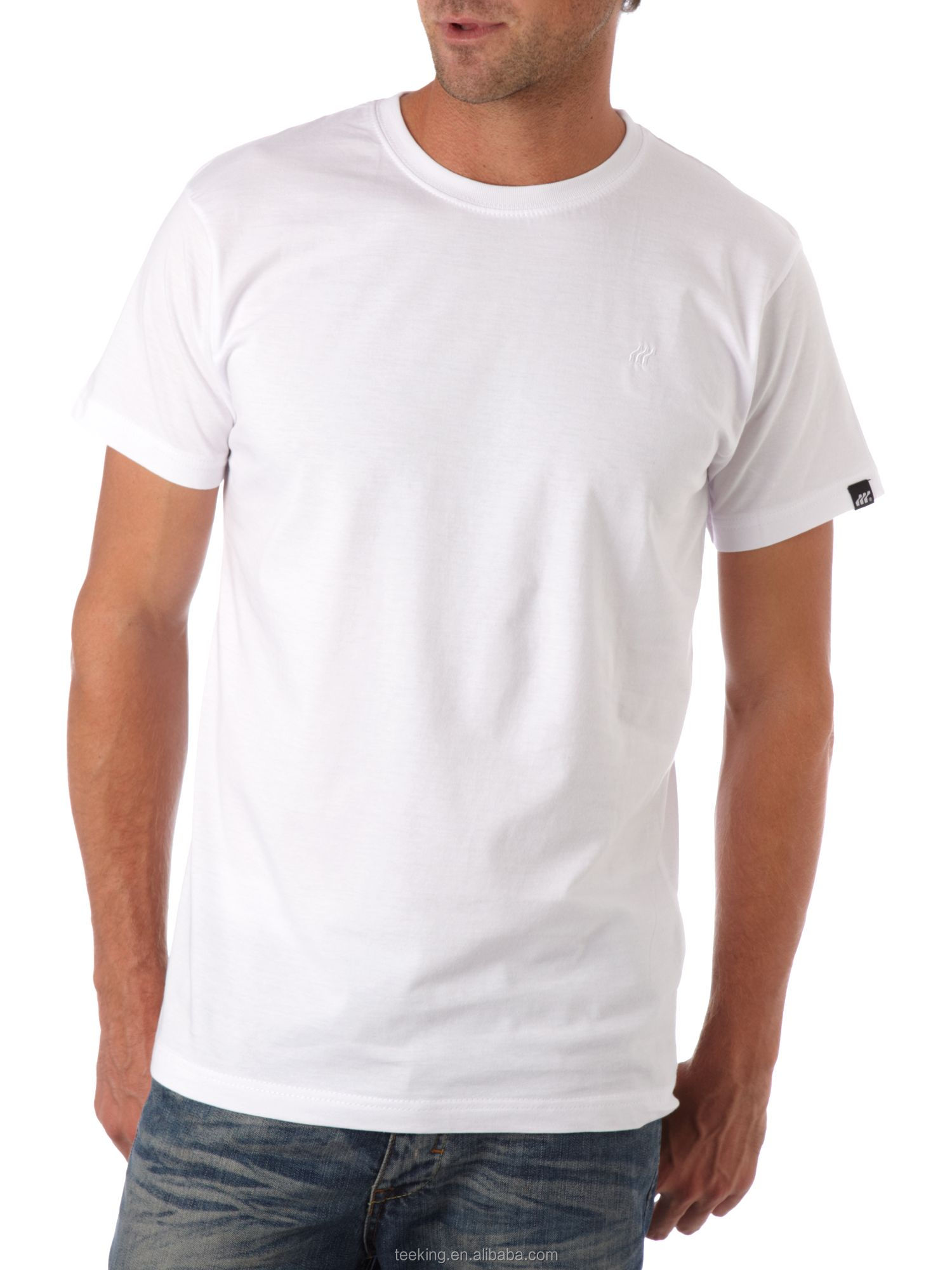 Cheap custom white t shirt blank buy white t shirt white for Where to order blank t shirts