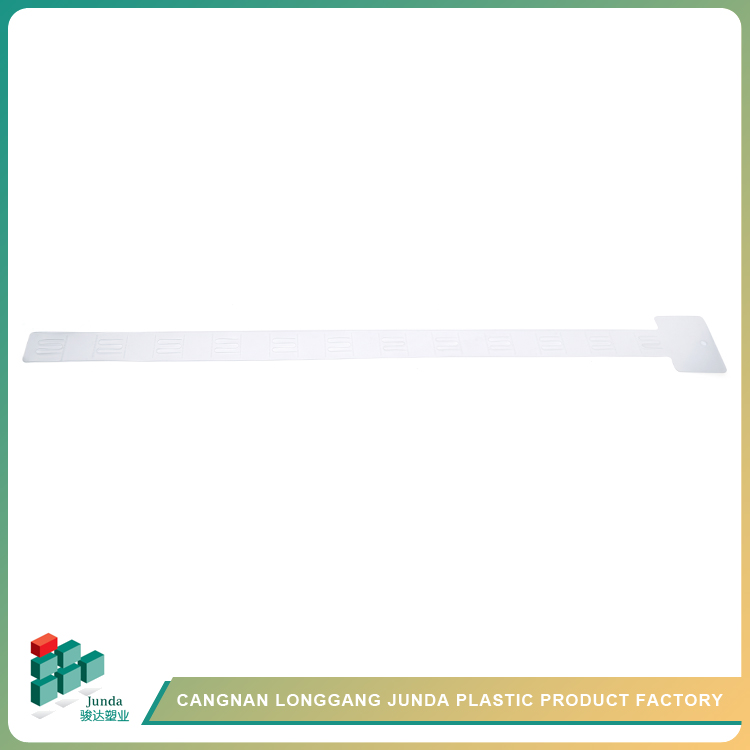 JUNDA Printed Plastic Pp Supermarket Command Hanging Strips For Data