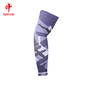 OEM Unisex outdoor sports compression cooling UV protection arm sleeves in cycling wear