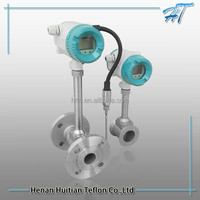 CE approved gas flow meter/air flow sensor/Vortex flow meter with low price