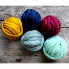 Charmkey wool yarn merino 18-21micron wool carpet yarn super chunky yarn