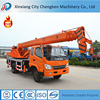 Widely used mini pickup truck with lift cranes for sale