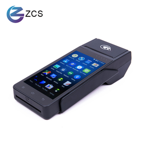 NEW Arrival Z90 Handheld 4G Android POS terminal with receipt Printer/android POS payment machine ,barcode/NFC android POS
