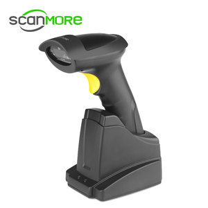 Barcode label scanner china supplier Micro USB wireless laser barcode scanner SM104J