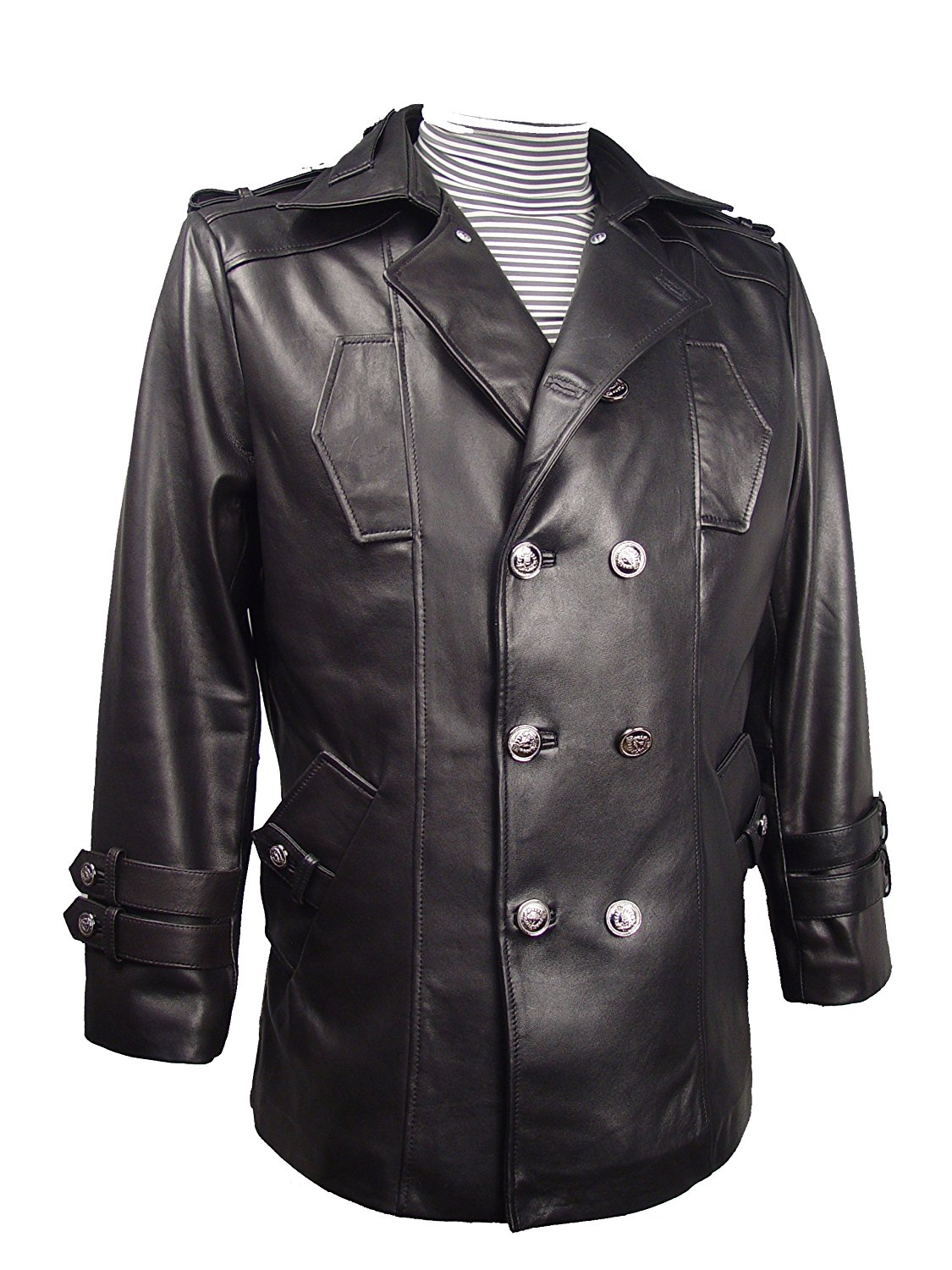 2d457c4047aebe Get Quotations · Nettailor Tall Big Man 1040 BIG TALL Size 4 Season Leather  Jacket Zip Out