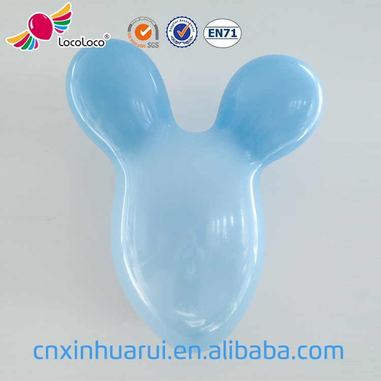 Blue color Mouse head balloon,latex animal balloons