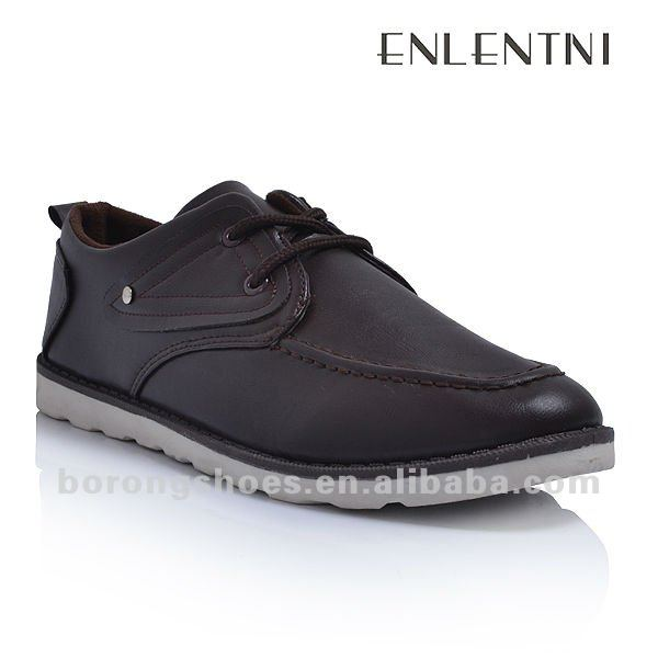 Black casual brand shoes men leather YYcFq4