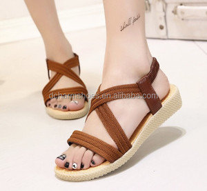 Comfortable New fashion open toe women sandals sexy low heels women's party casual shoes