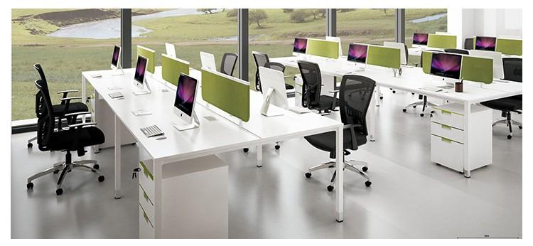 Estación De Trabajo De Oficina Muebles De Oficina De Melamina Escritorio  Separadores De Tabla Para La Tabla - Buy Separadores De Tabla Para La ...