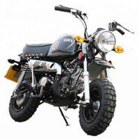 2018 hot sale 110cc monkey motorcycle bike dirt bike with CE