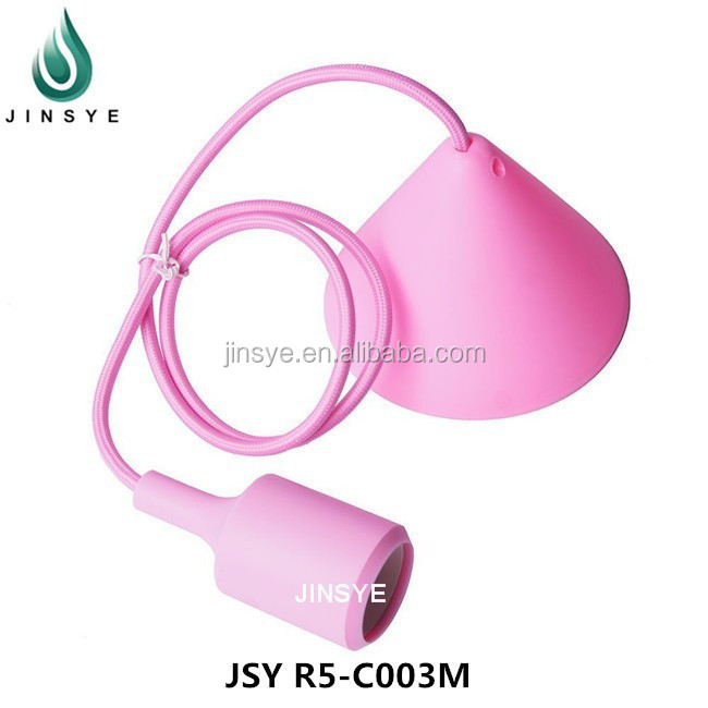 Indoor Decorative Silicone Pendant Light Fittings