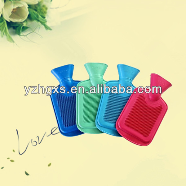 500ml small British Standard rubber hot water bag for warm in winter