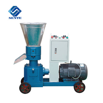 Small wood waste sawdust pellet mill machine