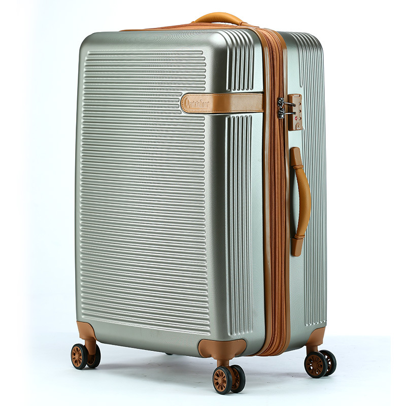 ABS материал и встроенный ролик abs чемодан багаж набор жесткий багаж