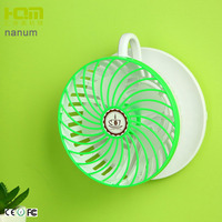 New Design Blue Travel Coffee Cup Shaped Quiet Oscillating Fan