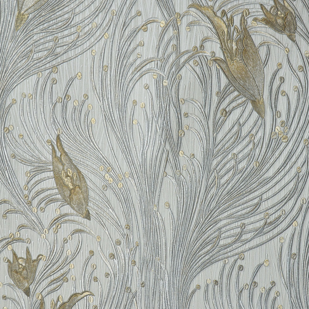 Mother-of-pearl wallcovering / residential / commercial / textured ...