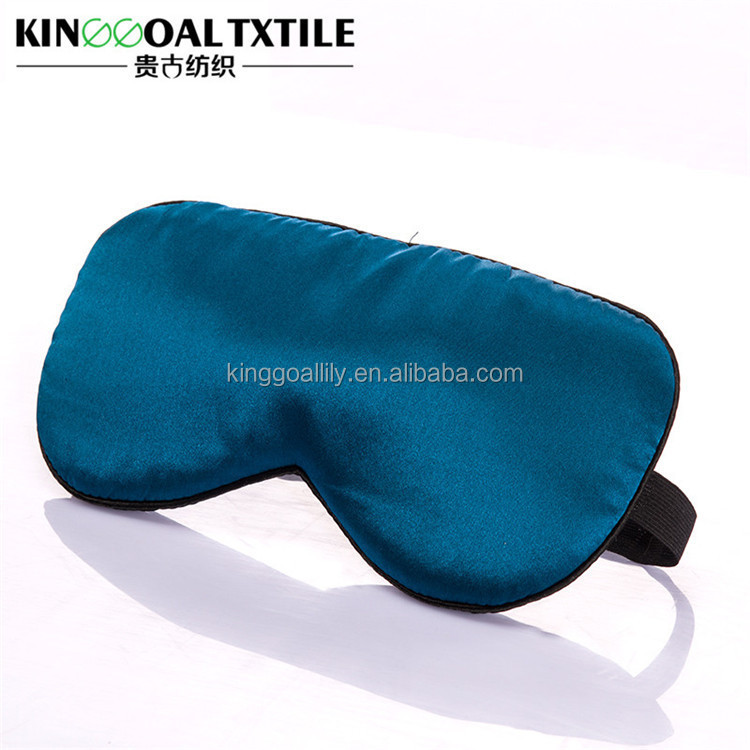 New design lightweight soft yoga 100% mulberry silk sleep masks with silk filling