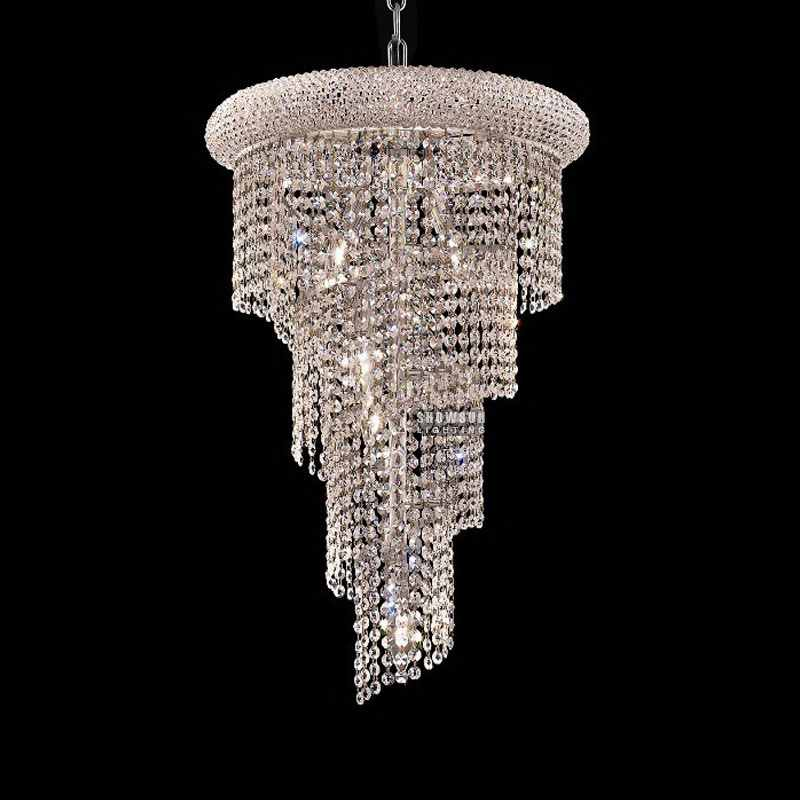 Ceiling Lights Radient Modern Led Crystal Ceiling Lamp Led Lamps Stainless Steel K9 Crystal Ceiling Lamps E27 Led Light Led Lustre Ceiling Lights To Be Distributed All Over The World Lights & Lighting