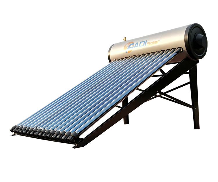 150l zinc coated color steel home solar power system