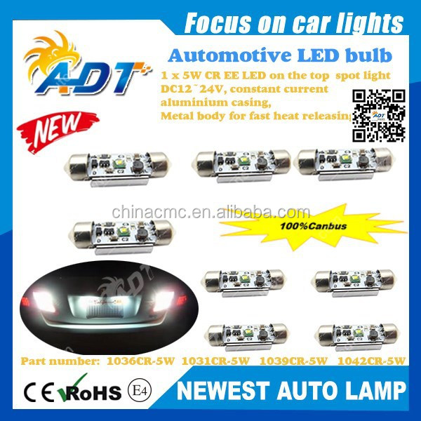 new design High Power SS 3020 SMD LED 3W T10/W5W/196/168 DC12V canbus no error auto lights