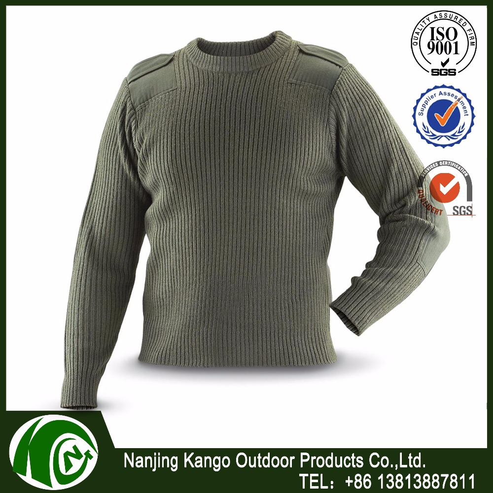 Olive Green German Army Commando Jumper All Sizes Military Pullover Sweater Top