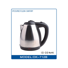 Electrical stainless steel tea or water kettle 1.5L with filter