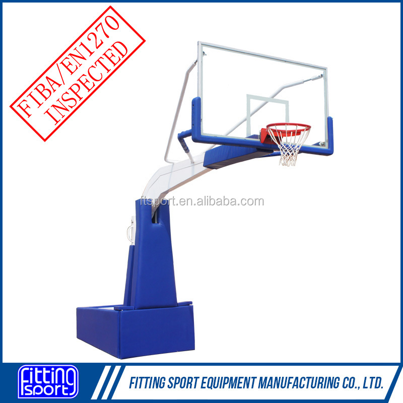 Good Service Movable and Height Adjustable Spring Assisted Basketball Goal (Lifetime Warranty)