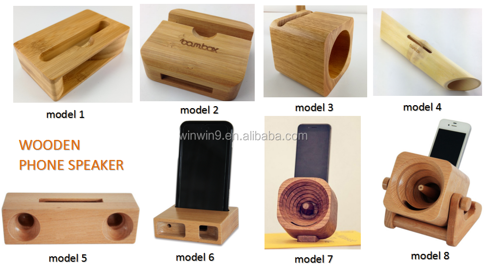 High Quality Wooden Casing Portable Cube Mini Speaker Fashion Universal Phone Stand Buy Wood Phone Standwooden Casing Speakermini Speaker Product