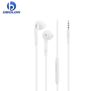 Hot Flat Cable Mobile Earphone For Samsung S6 Earphones in ear headset