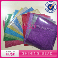 High Quality Cheap DIY Size EasyWeed Heat Transfer Vinyl Glitter HTV for T-Shirts With 13 Colors