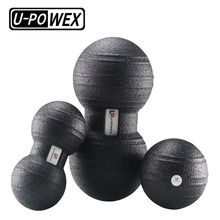 Dubbele epp fitness pinda therapie gym relax oefening yoga massage <span class=keywords><strong>bal</strong></span> release spier in gymnastiek
