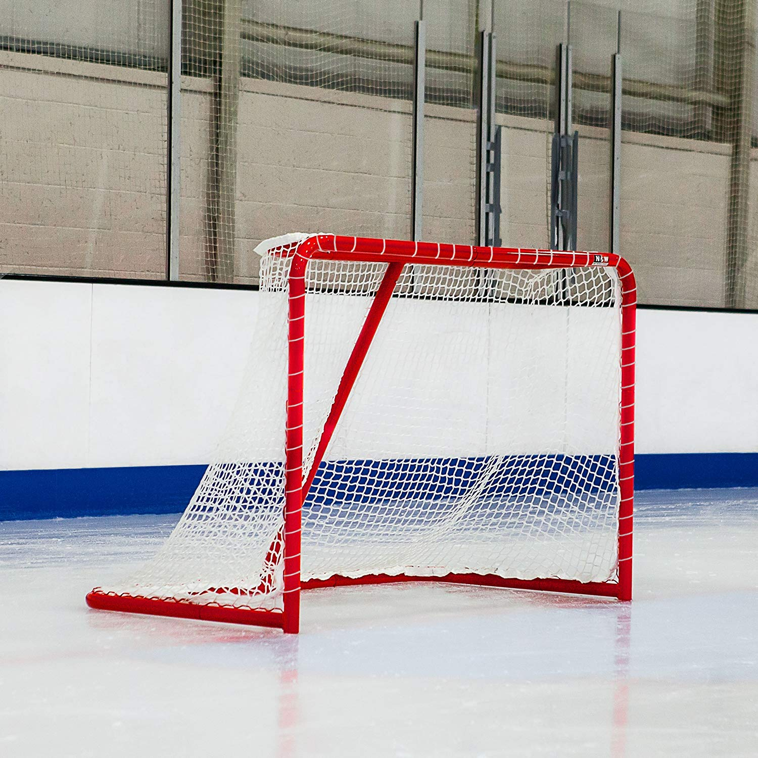 c26cc171265 Get Quotations · Regulation Ice Hockey Goal - Hockey Goal For All Ages -  Regulation Size   Color