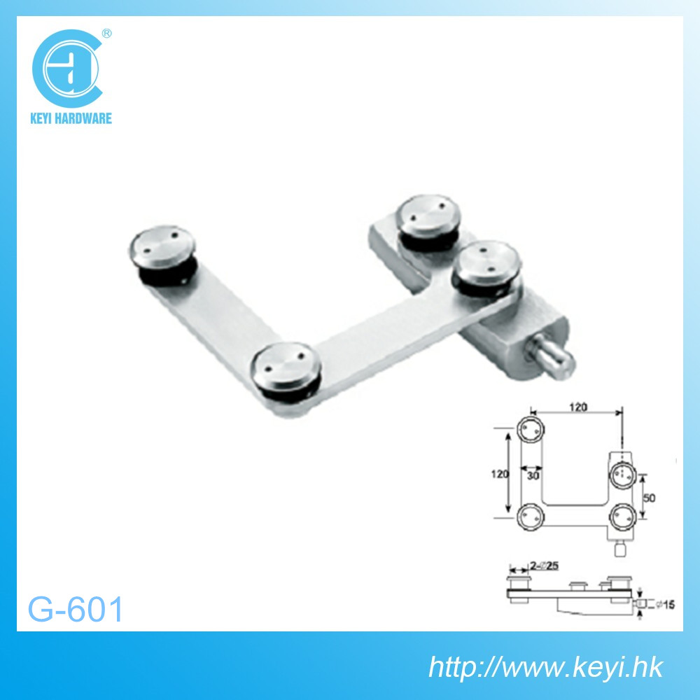 G-601, High quality stainless steel glass swing door hardware fitting/swing door upper pivot