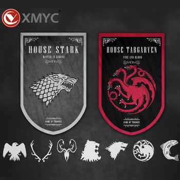 Hot House Stark Of Winterfell House Targaryen Game Of Thrones Garden Decors  Yard Flag Advert Nautical